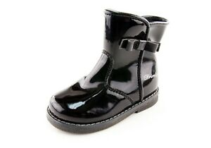 girls leather boots size 4