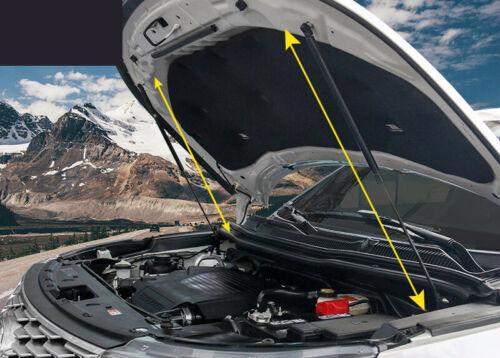 Black Engine Hood Shock Strut Damper Lifter New For Ford Explorer 2016-2018 2pcs