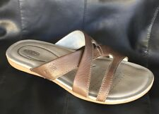 3cbd1bdad69 item 6 KEEN Cushioned insole ROSE CITY Slide Sandal Brown Leather Open Toe  Women US 6.5 -KEEN Cushioned insole ROSE CITY Slide Sandal Brown Leather  Open Toe ...