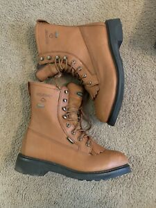"""2709 NEW WOLVERINE NORTHMAN 8/"""" GORE-TEX WORK BOOTS MENS 7 m WIDE MADE IN USA"""
