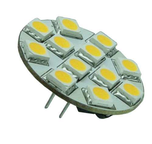 Holt 12 LED Rear Pin Halogen Replacement Bulb G4 Warm White R755