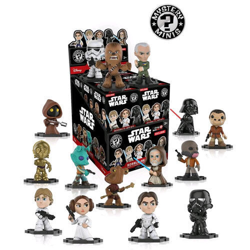 Star Wars - Mystery Minis GS US Exclusive Blind Box - Set of 12 NEW Funko