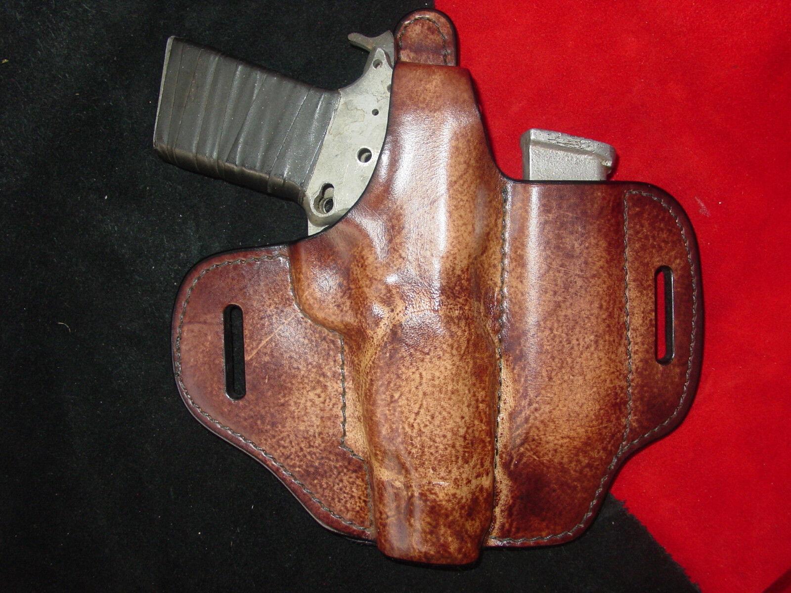 Colt, Sig, Springfield 1911 full Größe thumb break + mag holster B. Braun branded