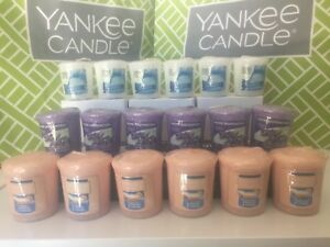 YANKEE-CANDLE-Votives-Samplers-You-Choose-Scent-Lots-of-6-New-in-Plastic