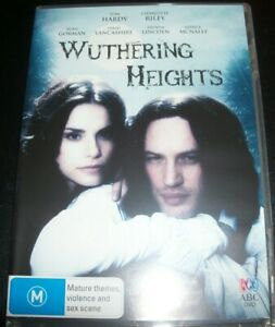Wuthering-Heights-Tom-Hardy-DVD-Australia-Region-4-DVD-Like-New