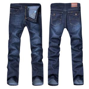 Cool-Men-Casual-Autumn-Denim-Cotton-Hip-Hop-Loose-Work-Long-Trouser-Jeans-Pants
