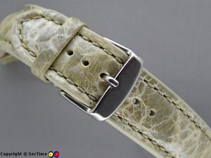 High-quality-leather-watch-strap-ODEON-White-Cream-20mm