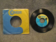 "45 RPM 7"" Record Donny Osmond Im Dyin & I Have A Dream 1974 MGM Records M 14781"