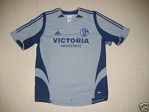 Aididas T-Shirt shirt Trikot Jersey SCHALKE 04 sz. XL