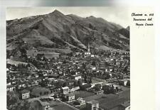 cartolina clusone dal monte crosio   provincia di bergamo