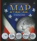 Statehood Quarters Collector's Map: Plus the District of Columbia and United States Territories by Whitman Publishing (Hardback, 2008)