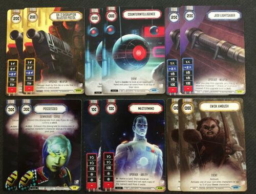 6x Playsets -G19D2 Star Wars Destiny Ewok Ambush OP PROMOS Mastermind...