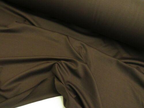 Tela de Ponte Roma Vestido Jersey De Punto Elástico Viscosa Spandex Suave 150cm de ancho