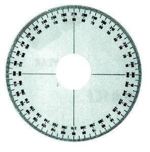 Ski Doo 295000007 Rotary Valve Timing Degree Wheel