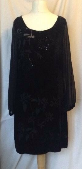EAST Black Evening Cocktail Dress BNWT Size 14