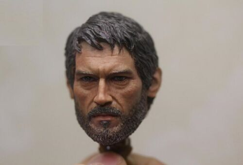 1//6 Joel male European head The Last of Us for hot toys phicen SHIP FROM US