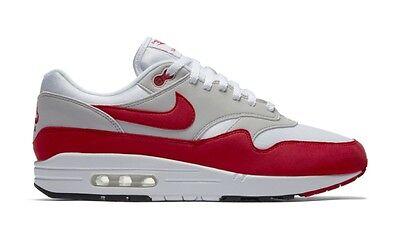 Nike Air Max 1 QS OG Kids SZ 6.5YDS NEW GS White Red 3.26 Air Max Day 827657 101 887225965709 | eBay