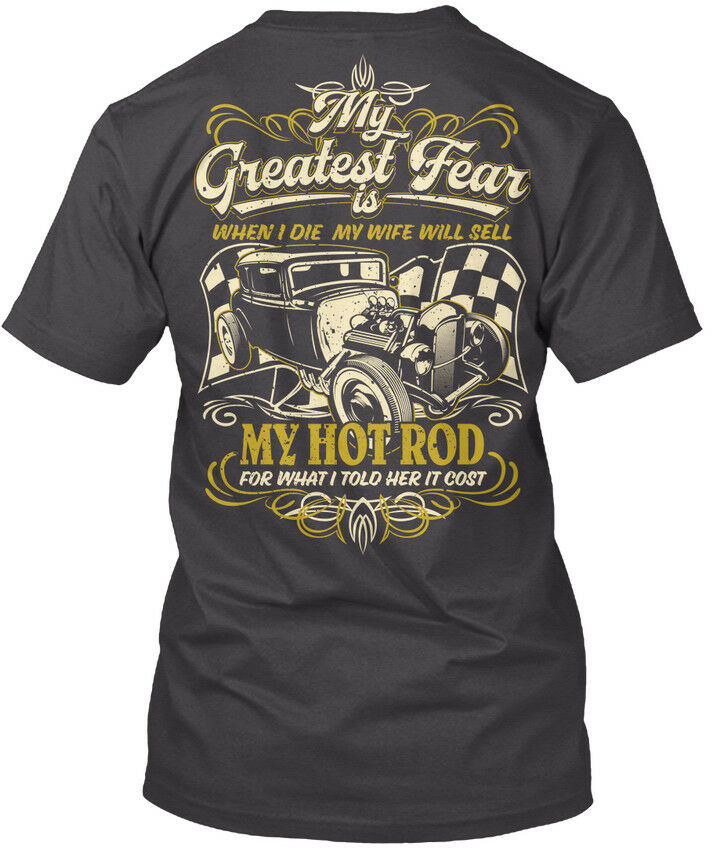 Must-have My Greatest Fear - When I Die Wife Will Sell Hot Premium Tee  T-Shirt