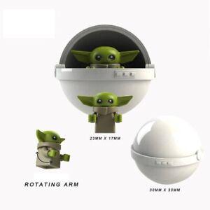 Baby-Yoda-The-Rise-Of-Skywalker-Star-Wars-Lego-Moc-Minifigure-Toys