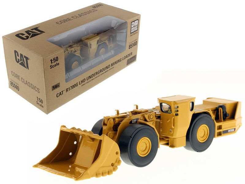 CAT Caterpillar R1700G LHD MINING LOADER avec conducteur 1 50 DIECAST Masters 85140