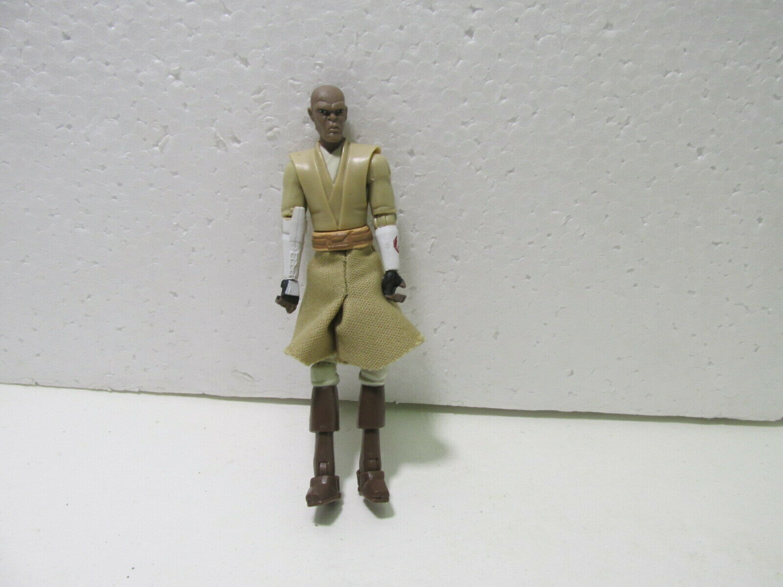 StarWars collection : Hasbro 2010 Star Wars Massue Windu 9.5cm Action Figurine t3847