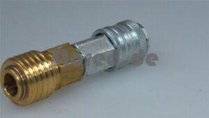 Adapter-T-Max-Kompressor-Druckluft-Anschluss-7-2-Standard-Druckluftschlauch-NEU