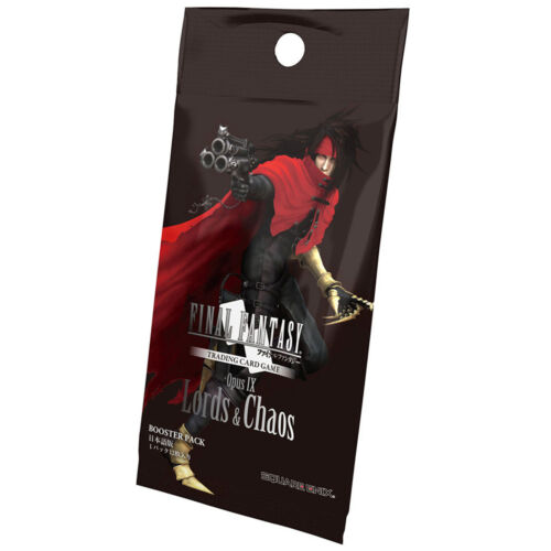Final Fantasy Opus IX Lords Of Chaos Booster Pack NEW TCG