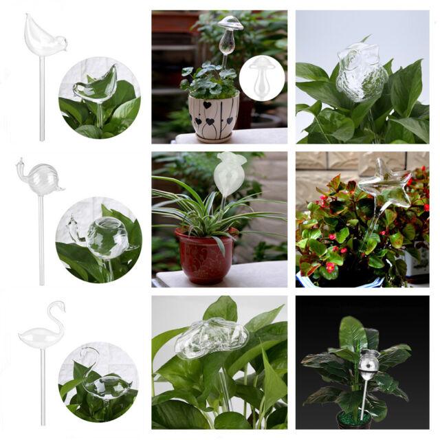 PVC Plant Flowers Water Feeder Self Watering Bird Shape Plant Waterer Device US