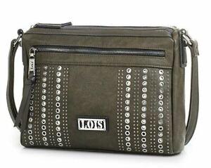Detalles de Bolso tipo cartera de doble cremallera para mujer bandolera de marca Lois