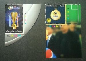 SJ-AFF-Suzuki-Cup-2010-Champion-Malaysia-2011-Football-Games-stamp-plate-MNH