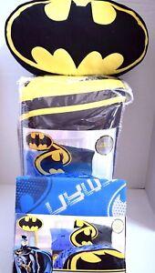 New Batman Bedding Glowing Bat Symbol Twin Comforter Sheet