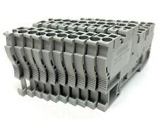 Phoenix Contact Typ Stio 253 2bl Terminal Block 25mm 250v 3209015 Lot Of 10