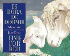 Es hora de dormir/Time for Bed Spanish and English Edition