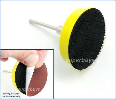 Polishing tool Shank Replacement Buffing Plate Backing Pad Holder Disc Drill
