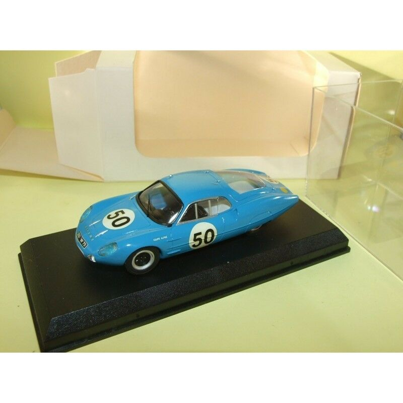 RENAULT ALPINE M63 N°50 LE MANS 1963 MINI RACING Kit Monté 1 43