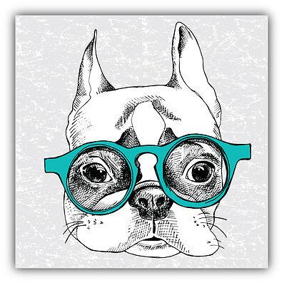 Frenchie mom bulldog funny vinyl decal car bumper sticker 230