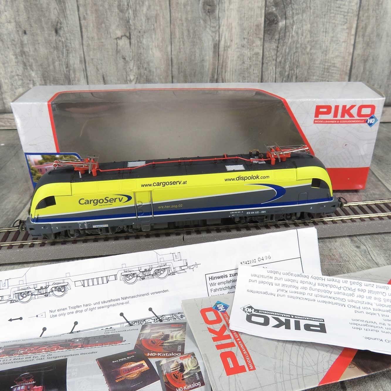 sconto online PIKO 57421 - HO - ÖBB - E-Lok autogo Serv Serv Serv ES64U2-081 - mit DSS - OVP -  G26456  liquidazione