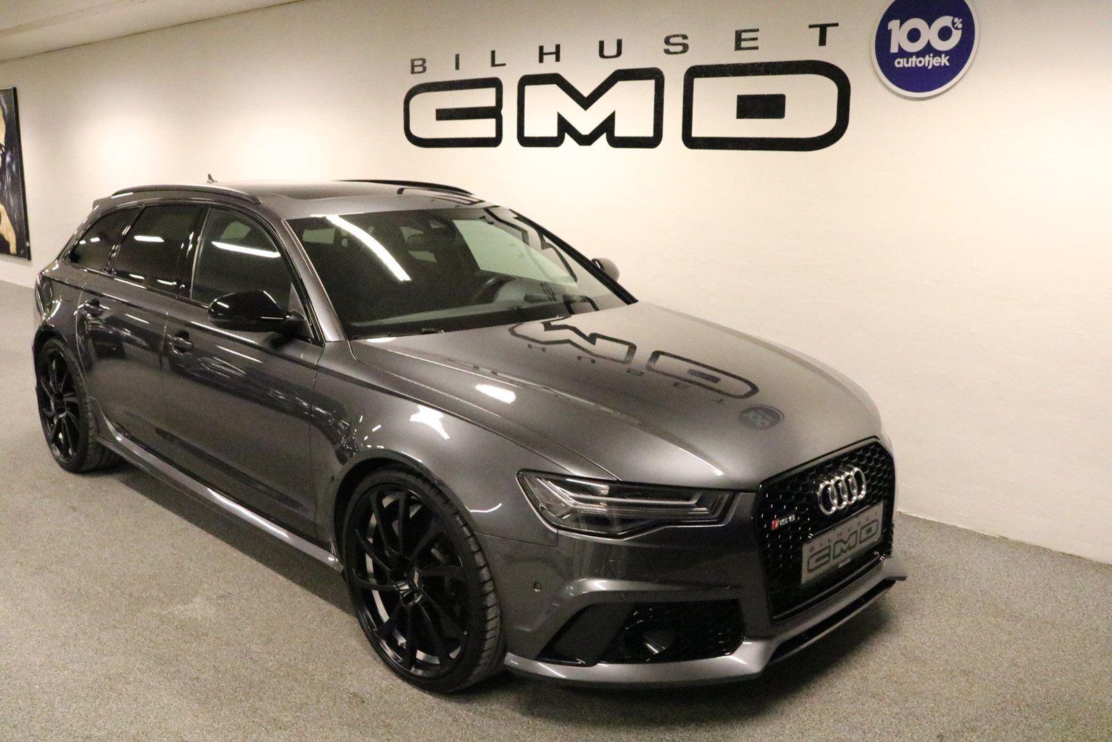 Audi RS6 4,0 TFSi Avant quattro Tiptr. 5d - 0 kr.