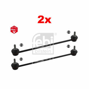 2x-Febi-Bilstein-Anti-Roll-Bar-Stabiliser-Link-Peugeot-2008-206-208-Citroen-DS3