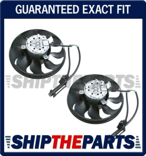 PORSCHE 996 911 986 BOXSTER AUXILIARY RADIATOR COOLING FAN MOTOR RESISTOR SET 2