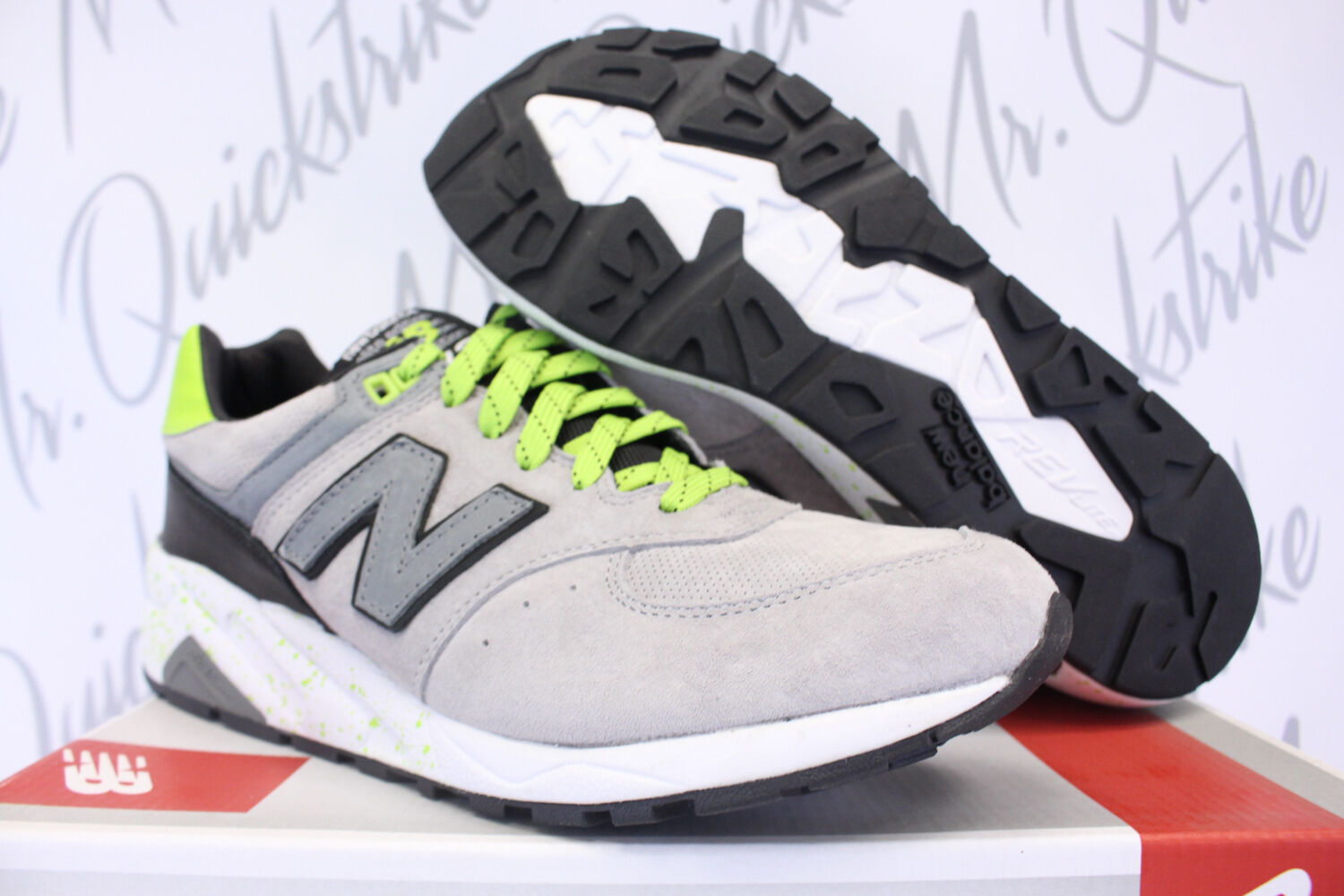 huge selection of 56321 99c1f NEW BALANCE 572 SZ 11 ELITE EDITION HALLOWEEN PACK grau grau grau NEON Grün  MRT572GG a51888