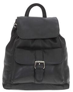 78d0ec031e3e3 Das Bild wird geladen Leder-Rucksack-CININO-LADY-Lederrucksack-Handtasche- Backpack-Bag-