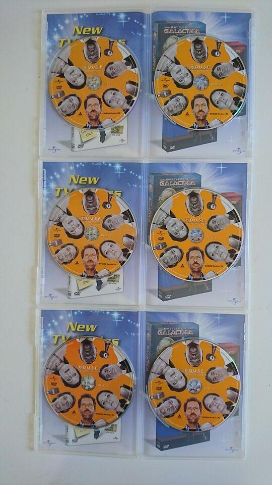 House M.D. - Season One (Flot Box-set med 6 DVD'er, DVD,
