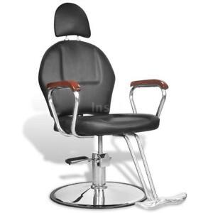 Poltrona Sedia da barbiere professionale in pelle artificiale poggiatesta Q0L4