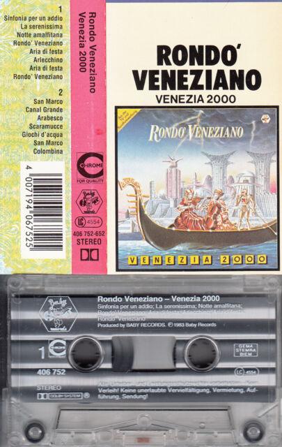 RONDO VENEZIANO - Venezia 2000 📼 MC Musikkassette,baby records 1983