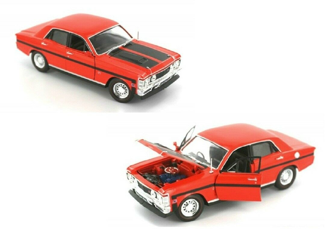 Ford Falcon XW GTHO Brambles Red Die Cast 1 32 Boxed Licensed Limited Edition