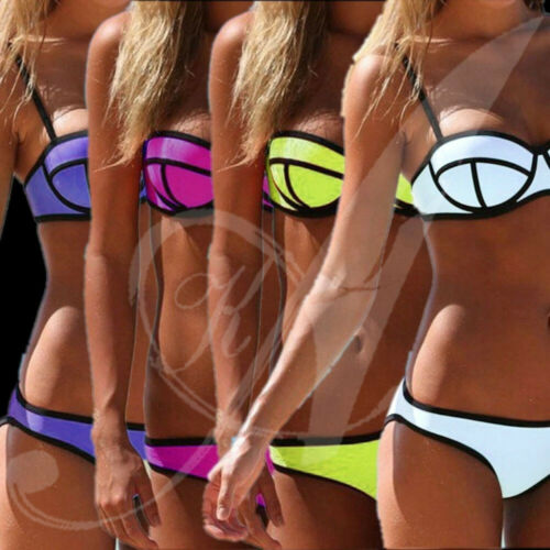 Womens Padded Push-up Bikini Sets Beach Swimsuit Bathing Suit Swimwear Beachwear