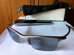 387bac0bbf Image is loading NEW-Oakley-Razrwire-NBT-O-Luminum-Sunglasses-Mercury-