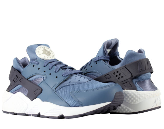 new styles a9dc9 ef92e Nike Air Huarache Blue MoonPale Grey Mens Running Shoes 318429-414