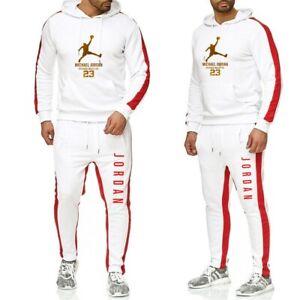 Mens-Michael-Air-Legend-23-Jordan-Tracksuit-Hoodie-amp-Pants-Men-Sweatshirts-Brand